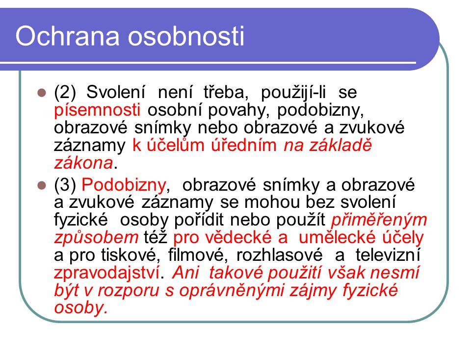 15 Svobodný přístup k informacím Zákon č.