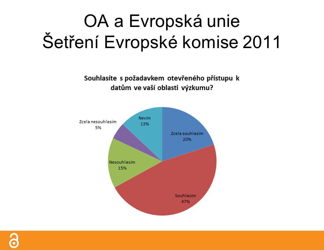 OA a Evropská unie Šetření Evropské komise 2011