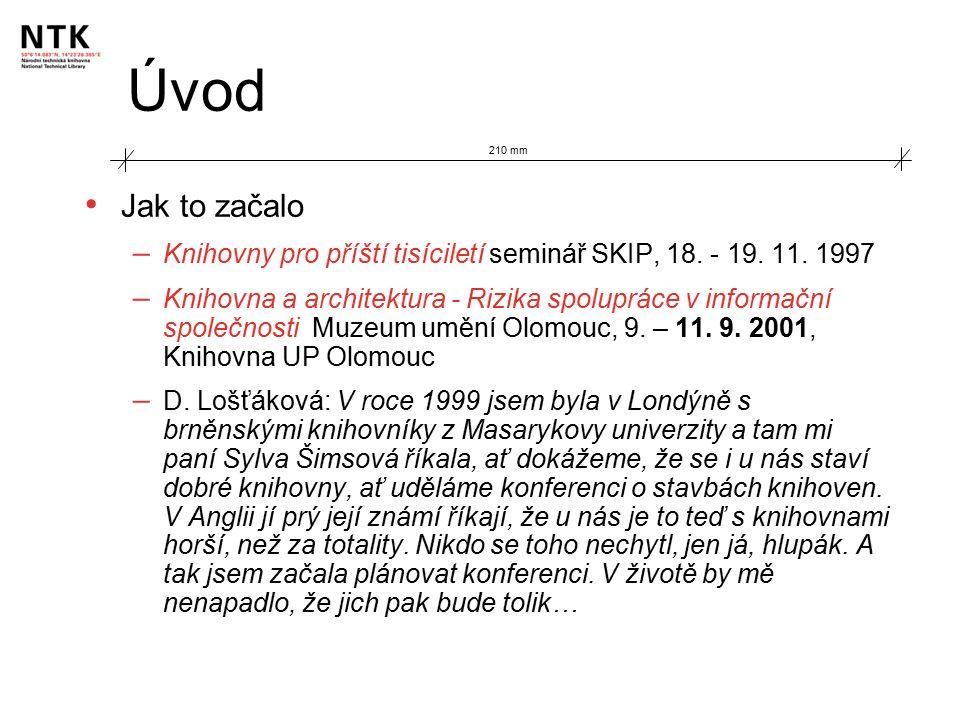 Úvod Jak to začalo – Knihovny pro příští tisíciletí seminář SKIP, 18.