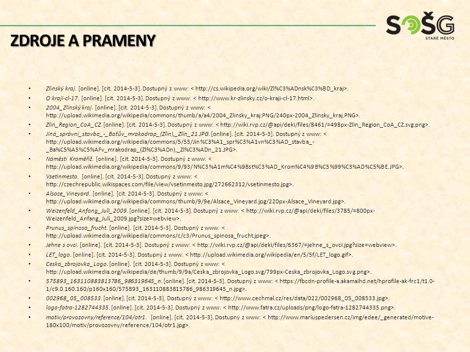 Zlínský kraj. [online]. [cit. 2014-5-3]. Dostupný z www:.