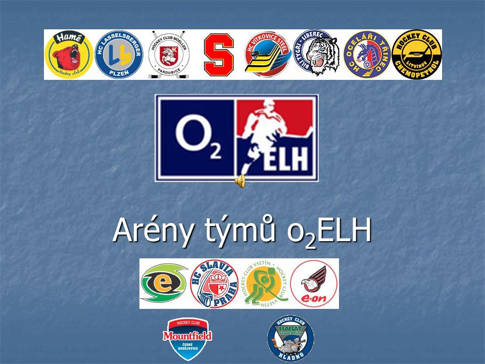 Arény týmů o2ELH