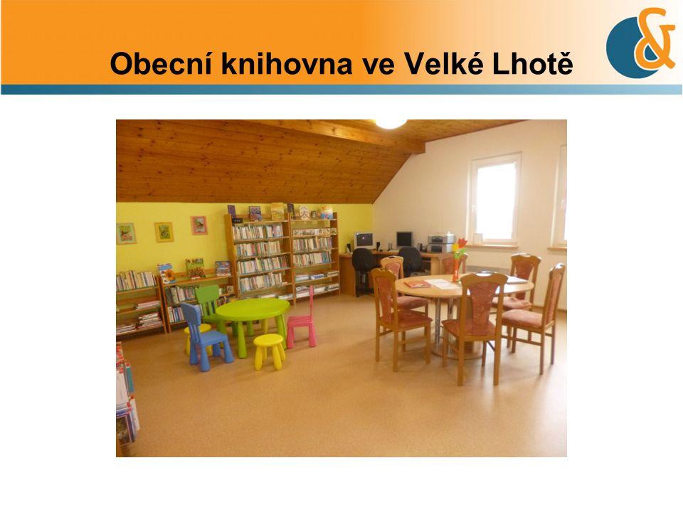Obecní knihovna ve Velké Lhotě