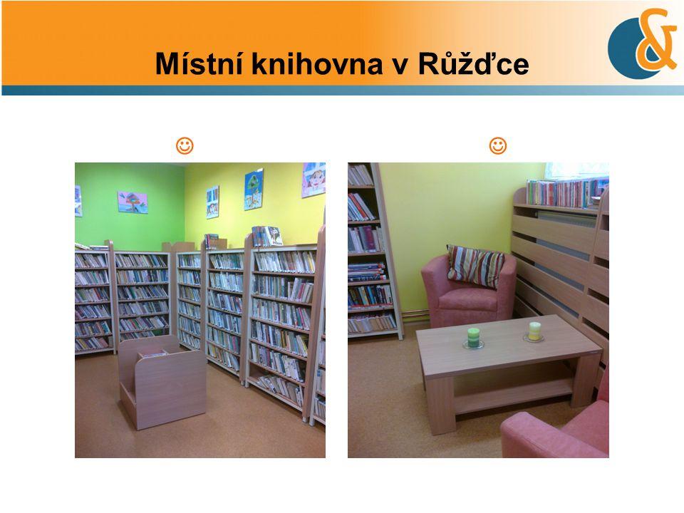 Místní knihovna v Růžďce