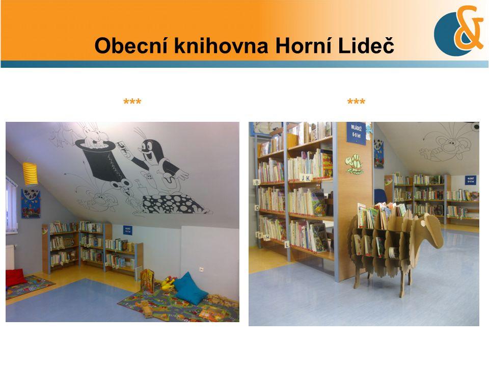 Obecní knihovna Horní Lideč ***