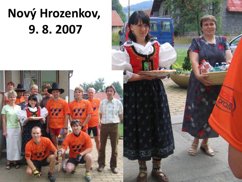 Nový Hrozenkov, 9. 8. 2007