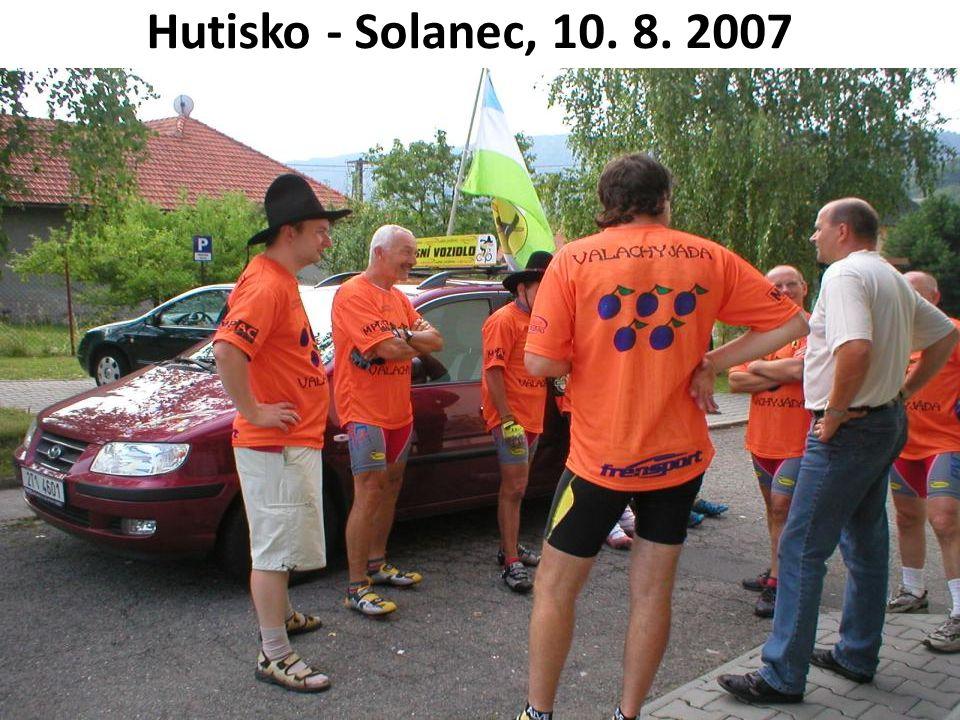 Hutisko - Solanec, 10. 8. 2007