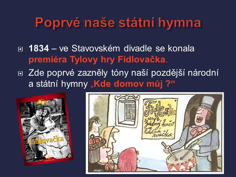  1785 – čeští herci dostali ze Stavovského divadla výpověď a založili si na Koňském trhu (dnešní Václavské náměstí) vlastní divadlo.  Byla to dřevěn