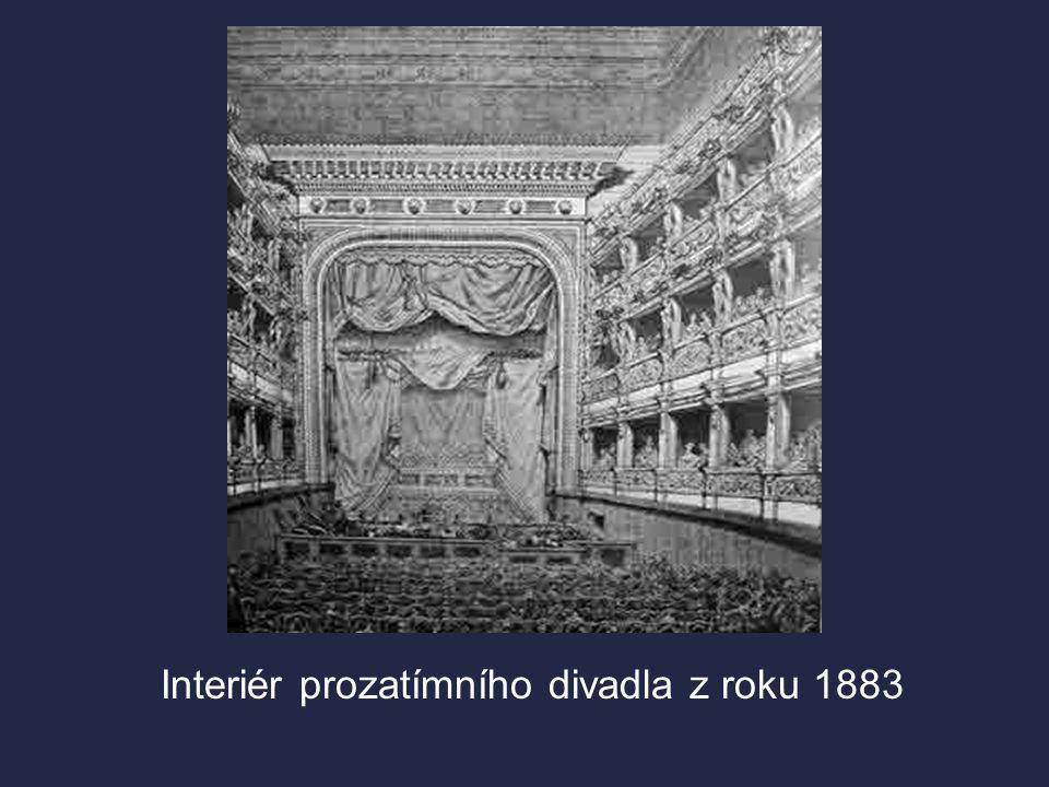  1851 – založen Sbor pro zřízení českého Národního divadla, který organizoval sbírky. Nepodařilo se však vybrat požadovanou částku, proto bylo r. 186