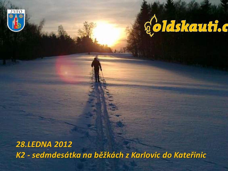 28.LEDNA 2012 K2 - sedmdesátka na běžkách z Karlovic do Kateřinic