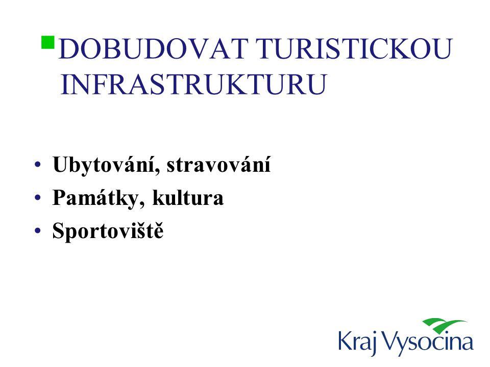  PROPAGACE A MARKETING Propagační materiály Tuzemské a zahraniční veletrhy Prezentace v Českých centrech Specializované fam-tripy a press-tripy