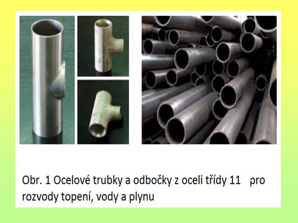 Otopná tělesa Článková OT, desková OT i trubková OT se vyrábí z konstrukční oceli třídy 11.