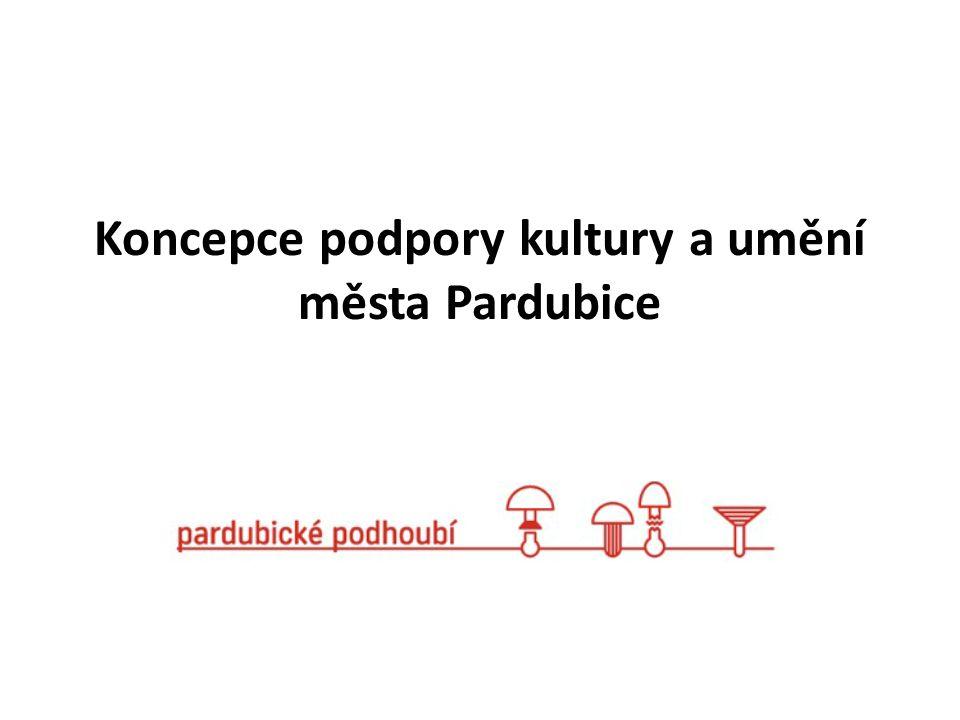 Koncepce podpory kultury a umění města Pardubice