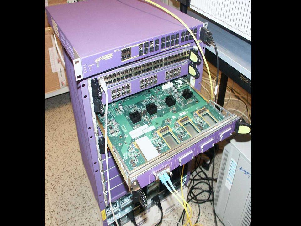 Použité 10Gb síťové prvky
