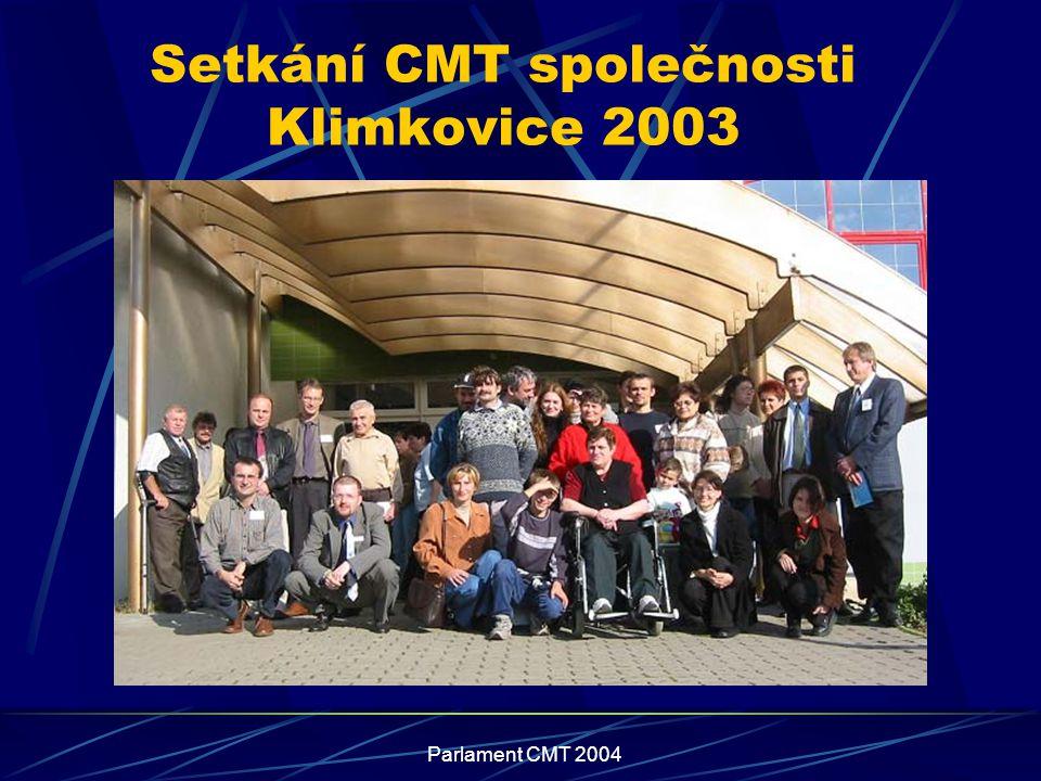 Parlament CMT 2004 Setkání CMT společnosti Klimkovice 2003