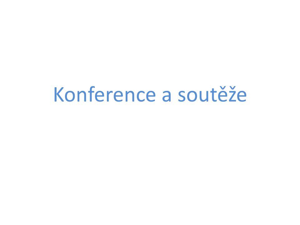 Konference a soutěže