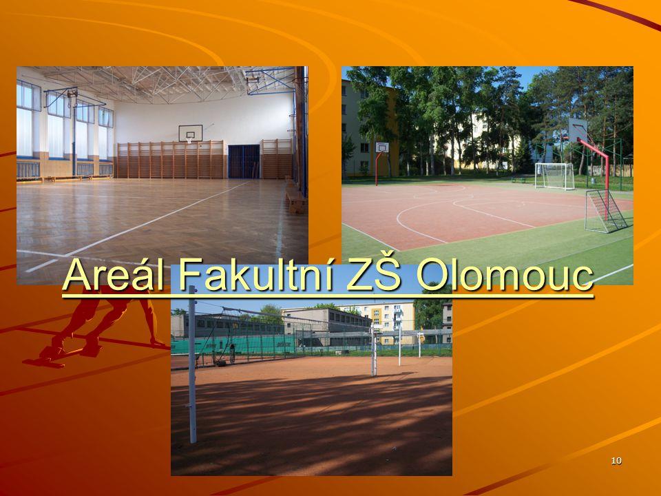 10 Areál Fakultní ZŠ Olomouc