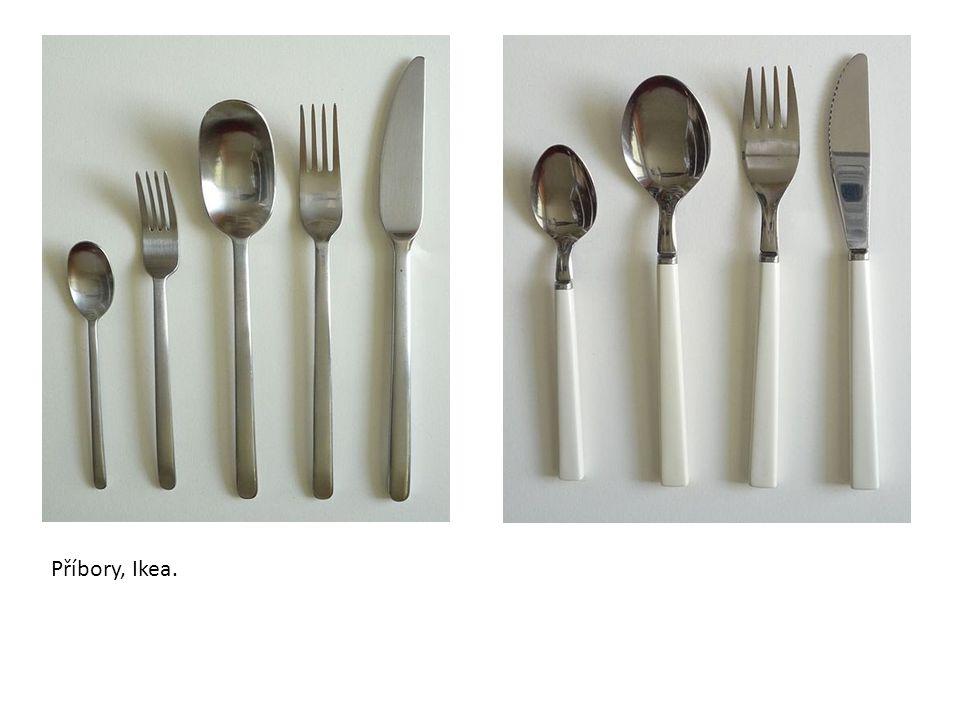 Příbory, Ikea.