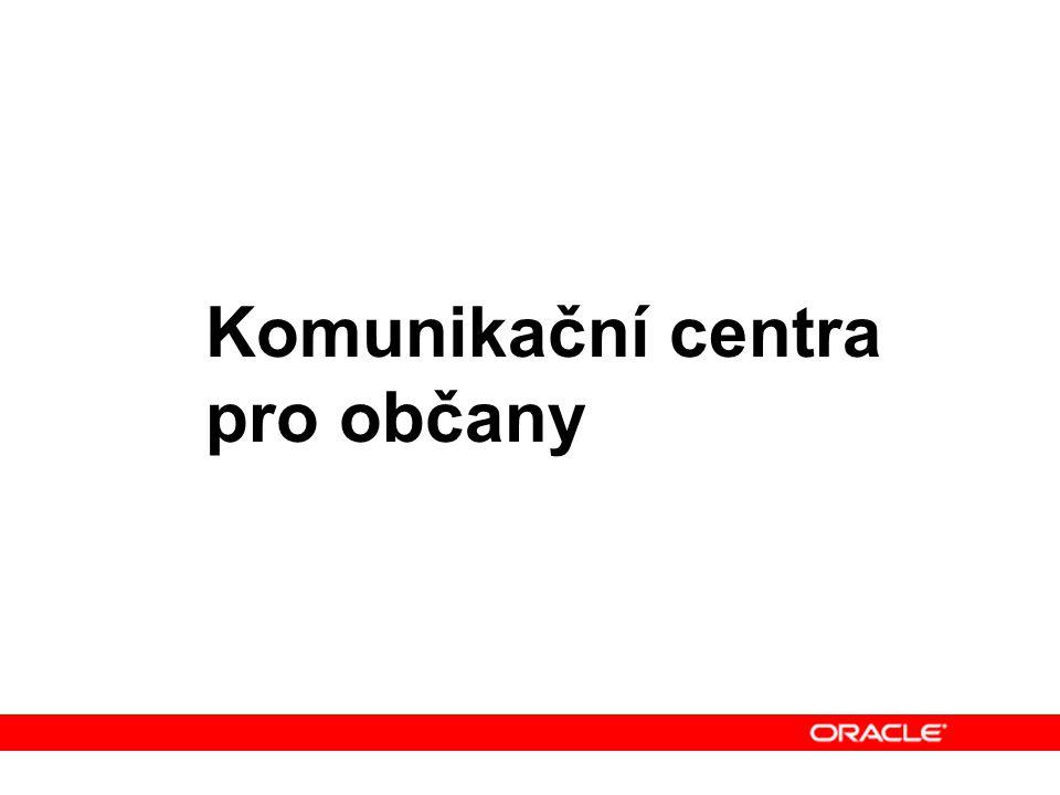 Komunikační centra pro občany