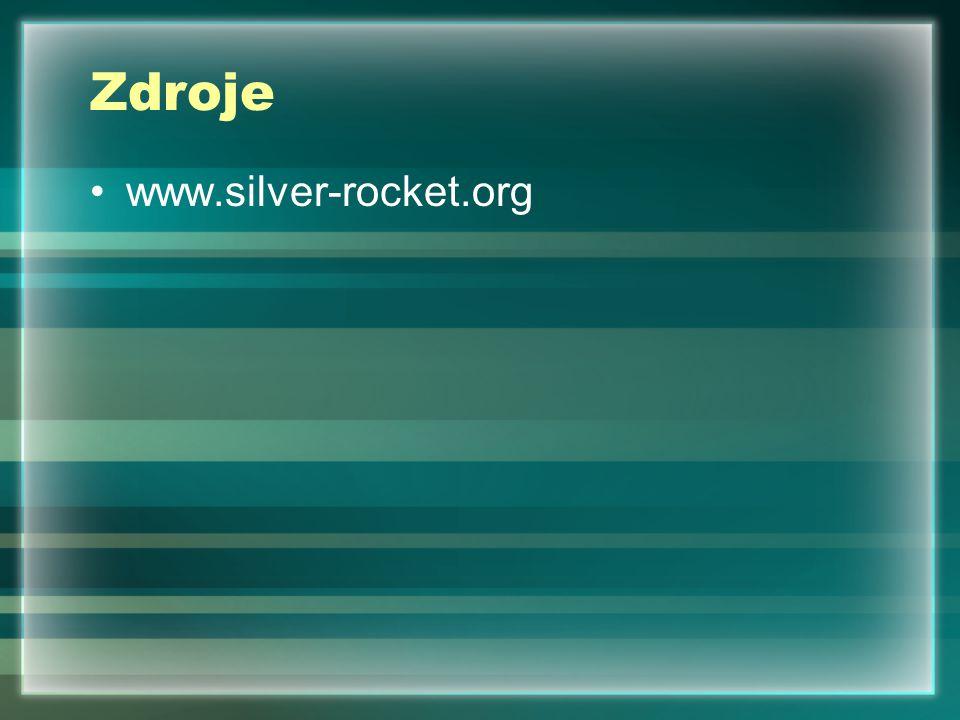 Zdroje www.silver-rocket.org