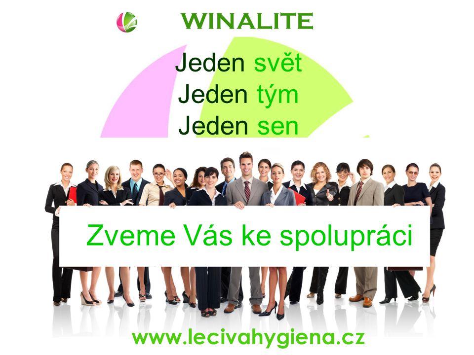 WINALITE www.lecivahygiena.cz Jeden svět Jeden tým Jeden sen Zveme Vás ke spolupráci