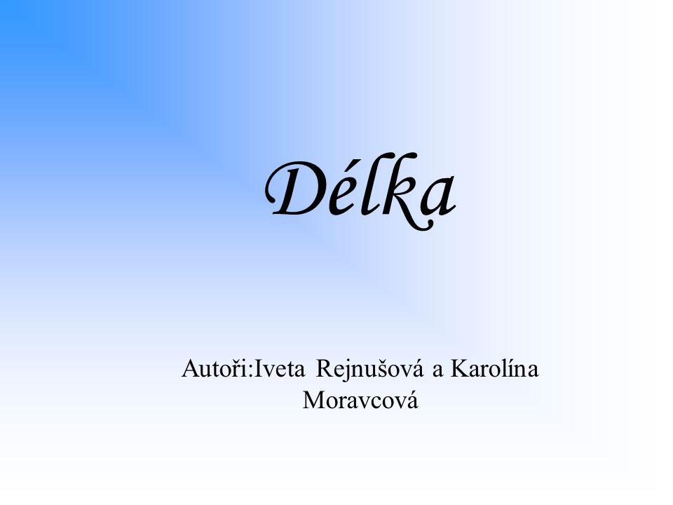 Délka Autoři:Iveta Rejnušová a Karolína Moravcová