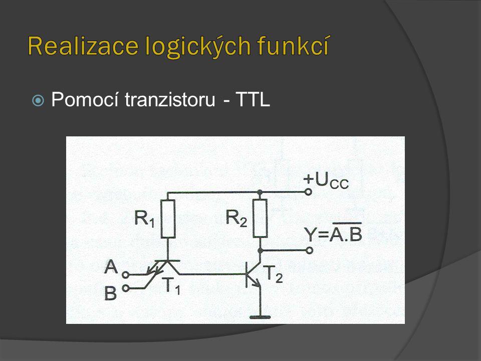  Pomocí tranzistoru - TTL