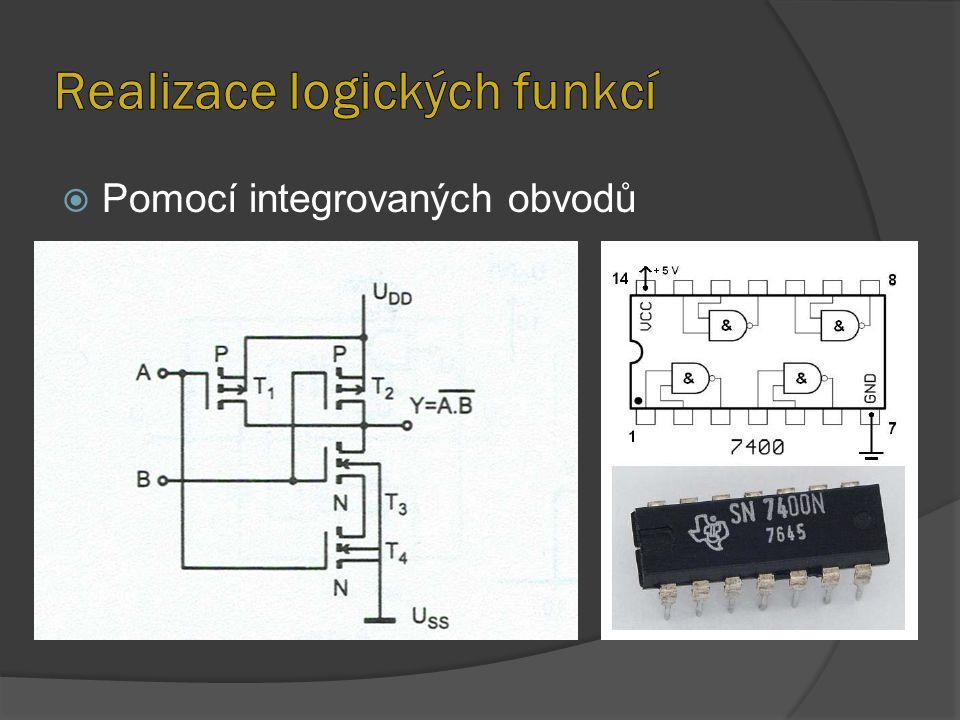  Pomocí integrovaných obvodů