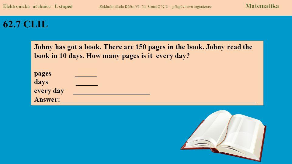 62.8 Test znalostí Správné odpovědi: 1.c 2.b 3.a 4.a Test na známku Elektronická učebnice - I.