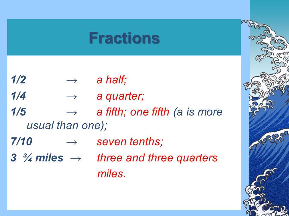 Multiplicative once twice three times a hundred times several times jednou dvakrát třikrát stokrát několikrát single, simple double, twofold treble, threefold jediný, jednoduchý dvojitý, dvojnásobný trojitý, trojnásobný for the first time for the second time poprvé podruhé first/ly second/ly third/ly za prvé za druhé za třetí