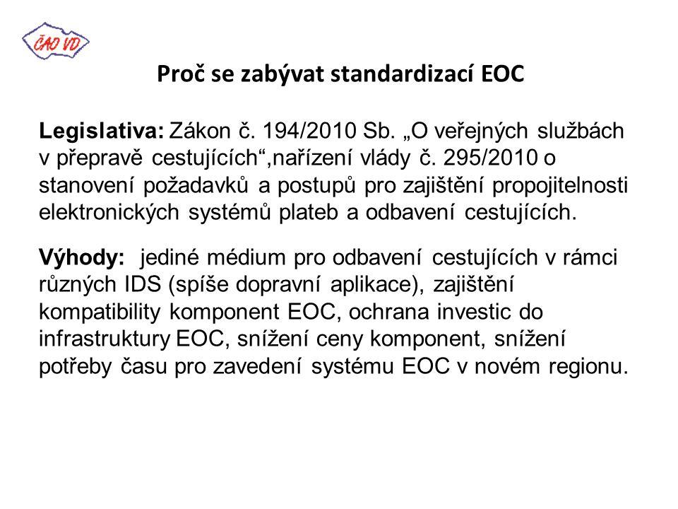 Novinky v ČAOVD -ČAOVD získalo licenci pro volné využití Struktury Moravskoslezské karty (personalizační aplikace, aplikace Průkazy/Benefity, EP, aplikace IDS jízdenky) -Vznikla pracovní skupina pro odbavovací, informační systémy a standardizaci (8.6.2012)