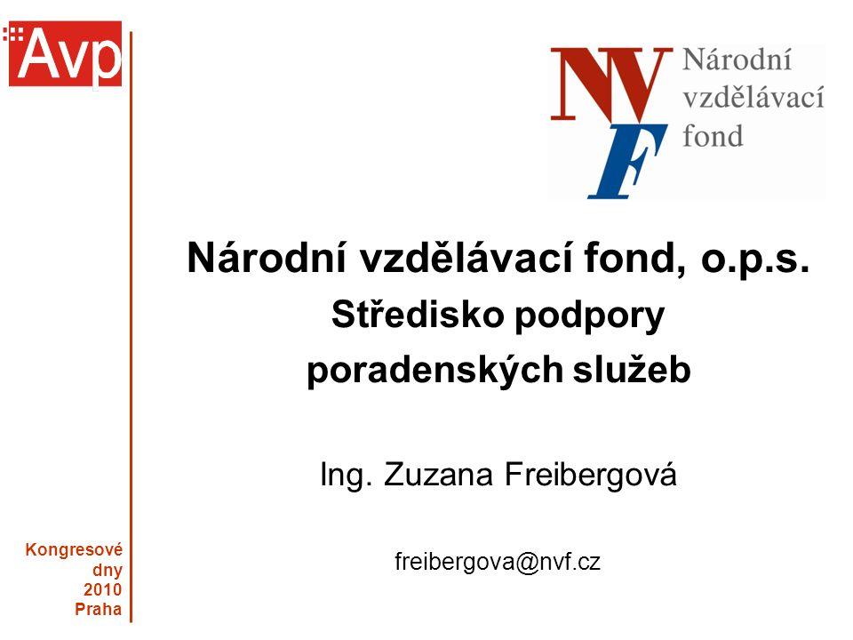Kongresové dny 2010 Praha Národní vzdělávací fond, o.p.s.
