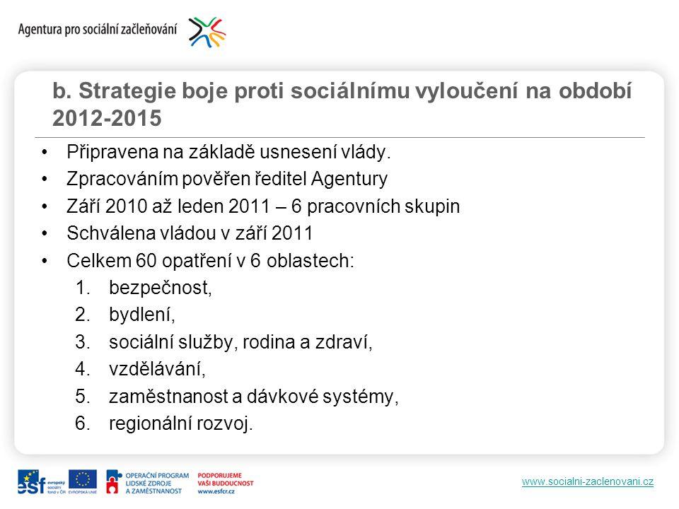 www.socialni-zaclenovani.cz Připravena na základě usnesení vlády.