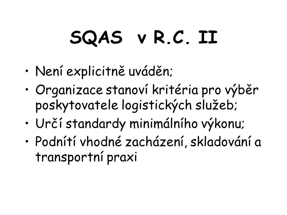 SQAS v R.C.
