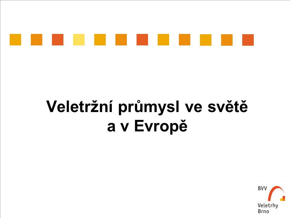 Veletržní průmysl ve světě a v Evropě