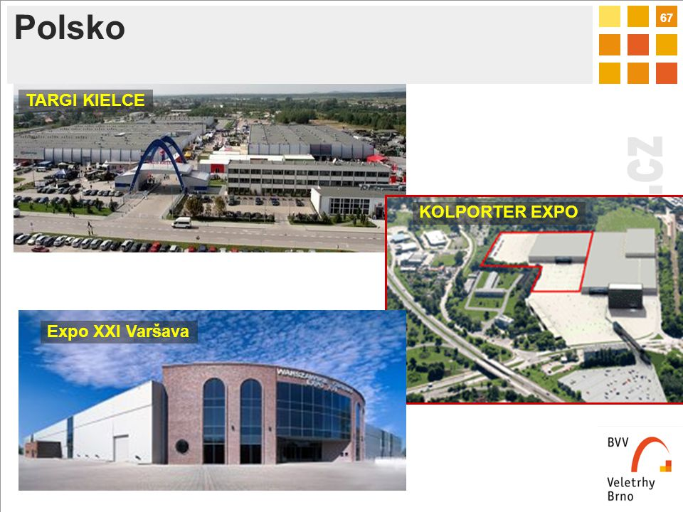 67 Polsko TARGI KIELCE KOLPORTER EXPO Expo XXI Varšava