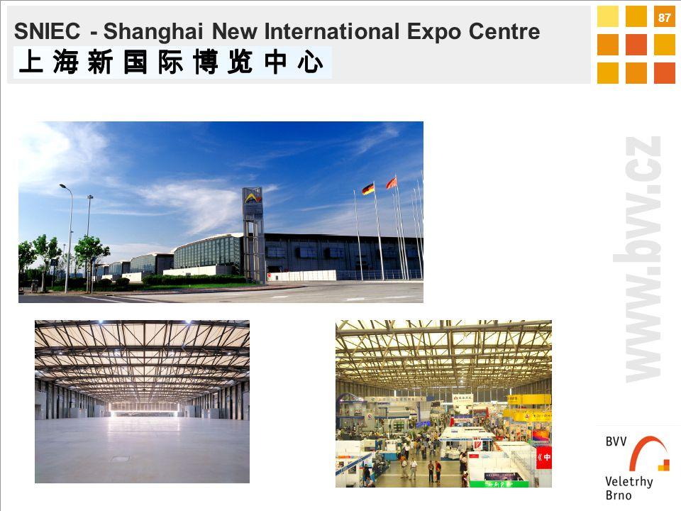 87 SNIEC - Shanghai New International Expo Centre