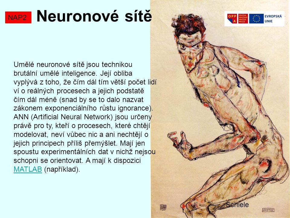 Neuronové sítě NAP2 Neuron=modul, který vypočte jednu výstupní hodnotu z několika vstupních.