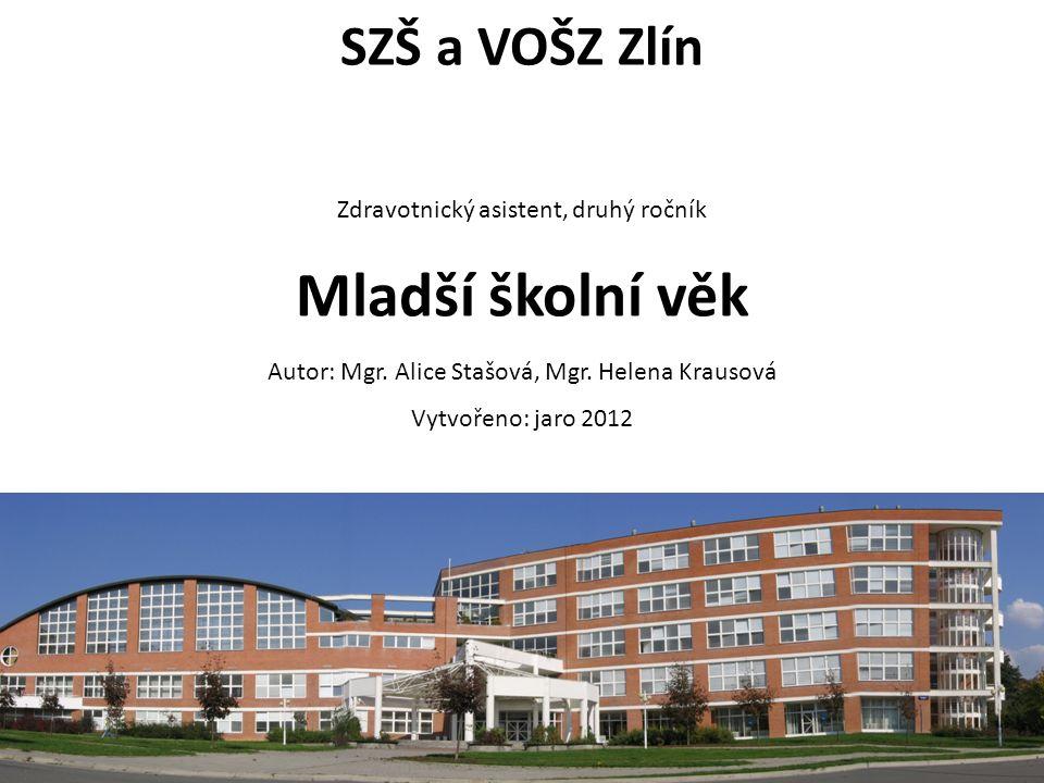 ZA, 2.ročník / Mladší školní věk / Mgr. Alice Stašová, Mgr.