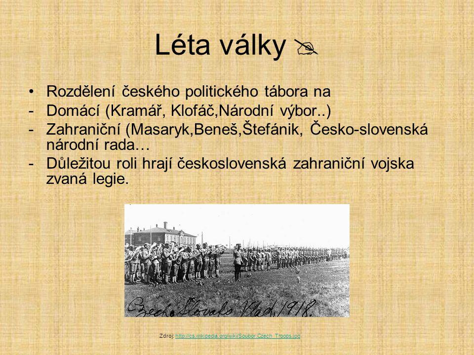 Podzim 1918  Počátkem října se rozpadá italská fronta – R-U vojska kapitulují a země stojí před rozpadem.