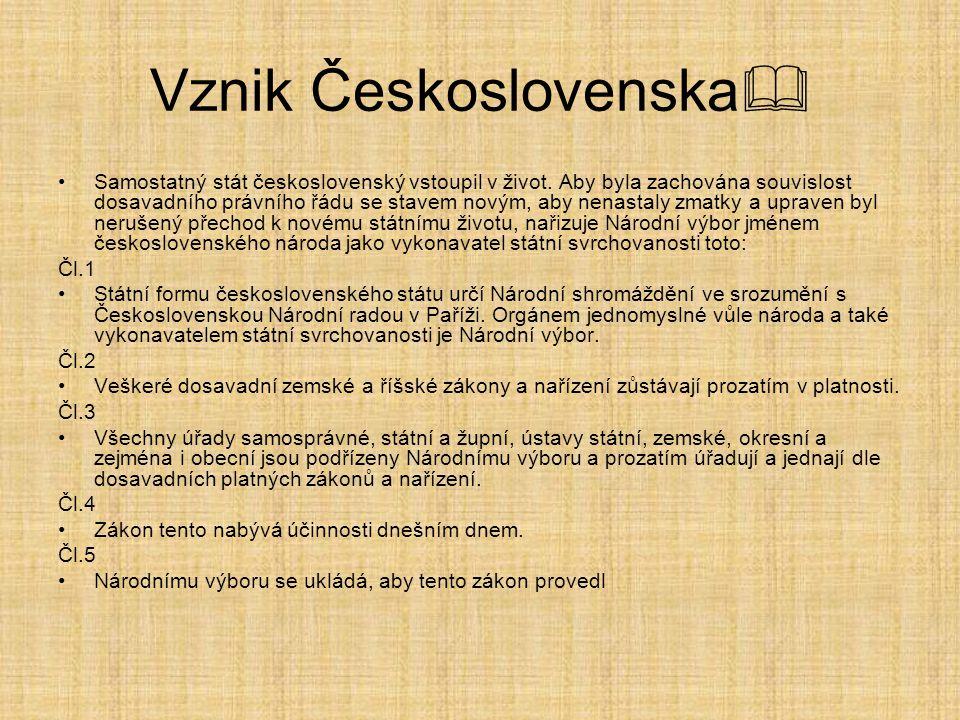 Československá republika  Politické strany Pětka nebo velká pětka bylo neformální mimoparlamentní, mimovládní a mimoústavní uskupení složené z šéfů velkých prvorepublikových politických stran.