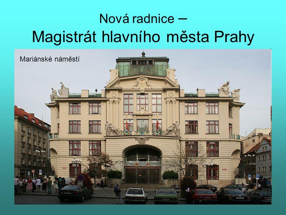 Václavské náměstí Pohled od Národního muzea Svatý Václav