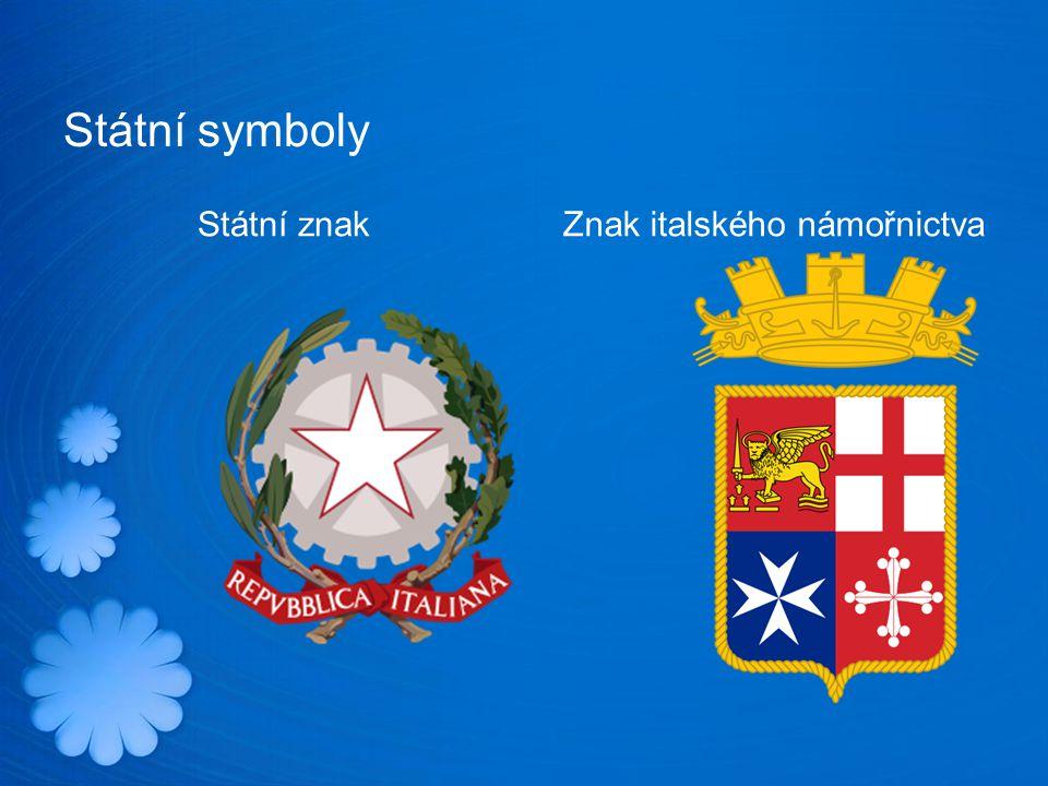 Státní symboly Státní znakZnak italského námořnictva