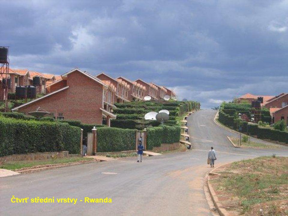Eastgate nákupní centrum v Harare - Zimbabwe