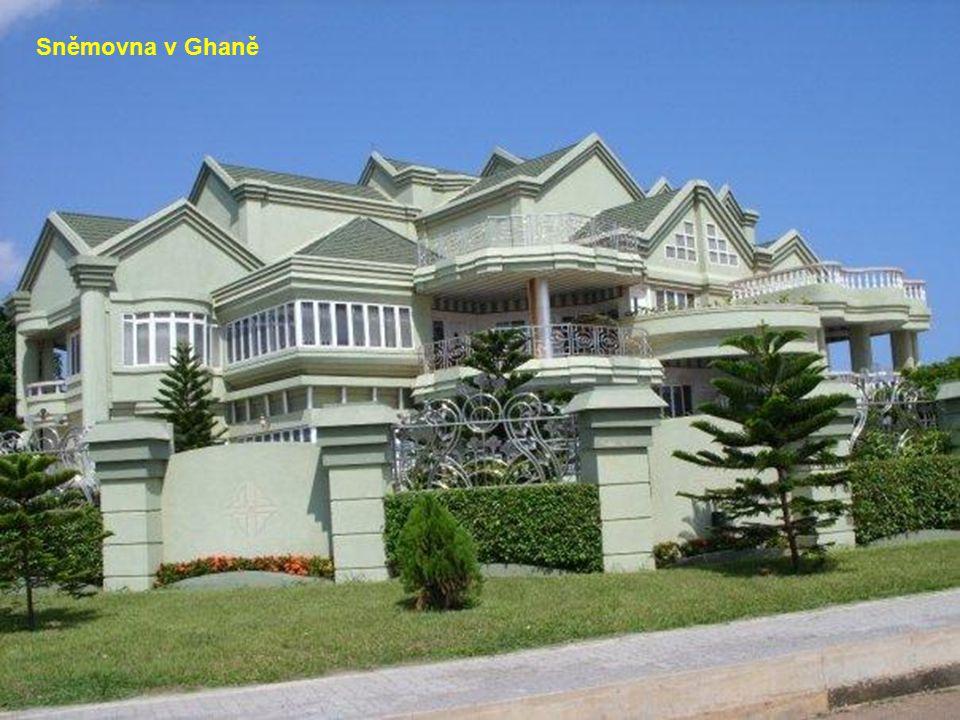 Africká architektura v Kamerunu