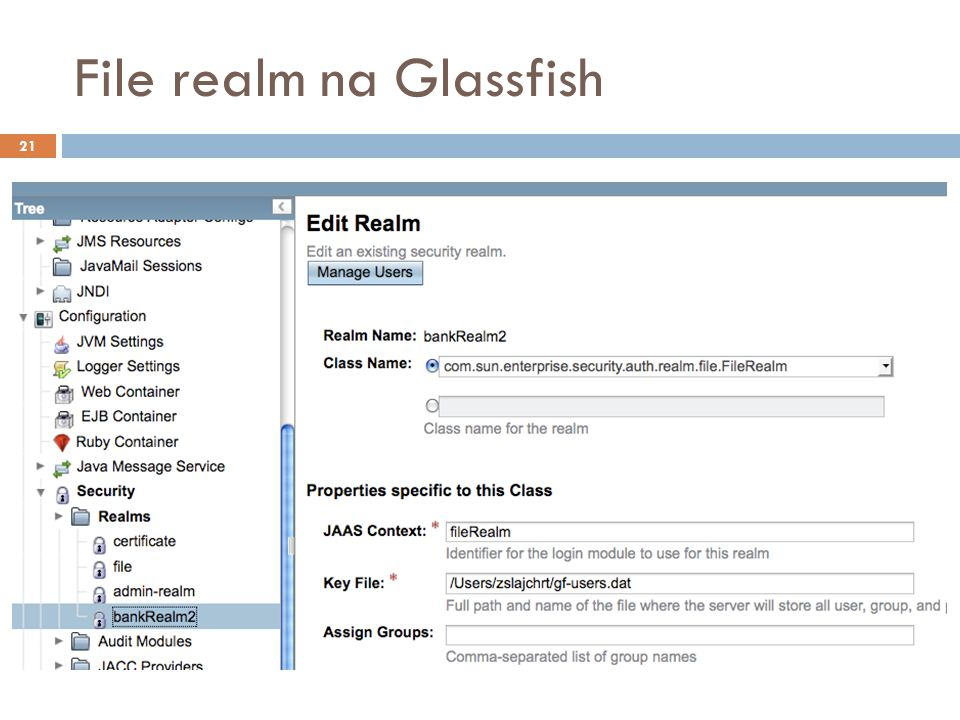 File realm na Glassfish 21