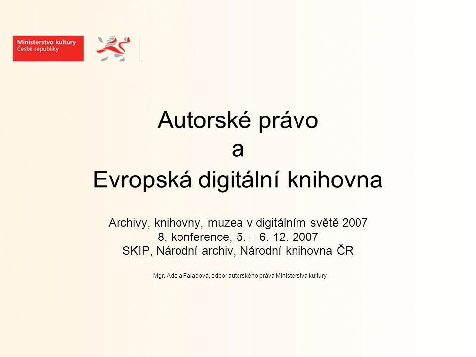 AP otázky spojené s EDK - digitalizace (archivní a konzervační rozmnoženiny, d.