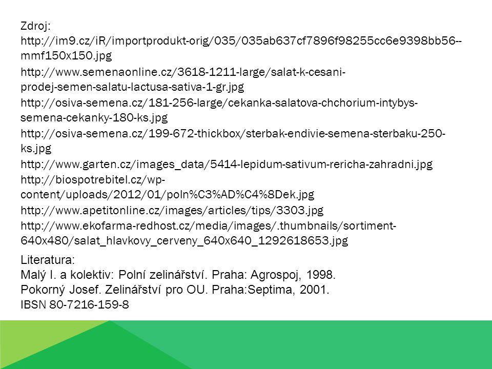 Zdroj: http://im9.cz/iR/importprodukt-orig/035/035ab637cf7896f98255cc6e9398bb56-- mmf150x150.jpg http://www.semenaonline.cz/3618-1211-large/salat-k-ce