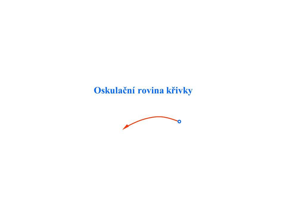 Oskulační rovina křivky