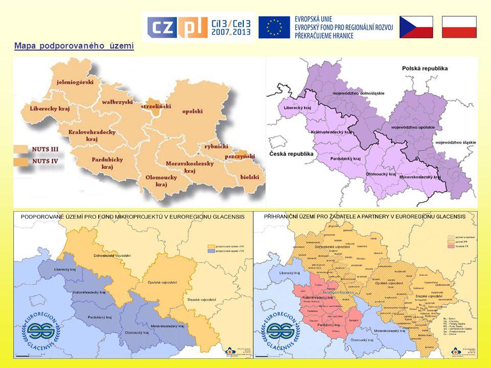 Financování OPPS ČR-PR Program je spolufinancován ze zdrojů Evropského fondu pro regionální rozvoj (ERDF) ve výši 219,46 mil.