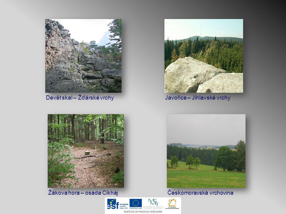Hlavní evropské rozvodí Sázava ~ Vltava ~ Labe Dyje ~ Morava ~ Dunaj Severní moře Černé moře